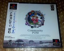 Community Pom First edition - PS1 Playstation Japan jap NEW