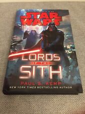 Star Wars: Lords of the Sith: by Paul S. Kemp (2015, Hardcover) 1st Edition