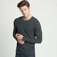 Next Level Apparel 8201 - Thermal Long Sleeve Crew Neck T-shirt