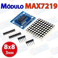 Modulo MAX7219 Matriz LED 8x8 ROJO matrix 64 led - Arduino Electronica DIY