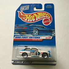 Hot Wheels 1998 First Editions Escort Rally #637