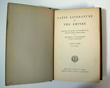Latin Literature of The Empire Volume II Poetry By Alfred Dudeman 1899 Edition