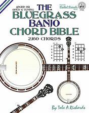 BLUEGRASS BANJO CHORD BIBLE - 2,160 CHORDS (NEW 2016 EDITION)