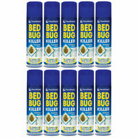 PS Bed Bug Insect Killer Fast Acting Kill Treatment Bedroom Spray Aerosol -200ml