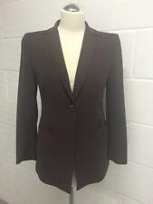 EPISODE Designer Women's wool Brown Jacket Blazer Lined size USA 2 UK 8