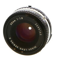 Nikon Nikkor 50mm F/1.8 AIS/Late Standard Manual Focus Lens {52} - UG