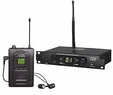 Audio2000S AWM6304U 100 Selectable Frequency UHF In-Ear Monitor System