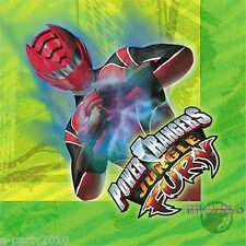 POWER RANGERS Jungle Fury LUNCH NAPKINS (16) ~ Birthday Party Supplies Dinner