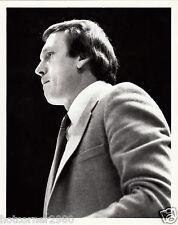 BILLY CUNNINGHAM PHILADELPHIA 76ERS COACH ORIGINAL 8X10 PHOTO PHOTOGRAPH 3/26/82