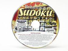 Britannica Sudoku Unlimited - Windows 8 / 7 / Vista / XP / 95/98 Computer PC