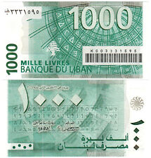 Lebanon 1000 Livres P#84a (2004) Banque du Liban UNC