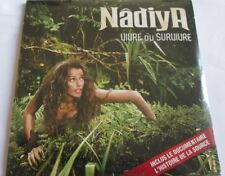 "NÂDIYA - CD SINGLE ""VIVRE OU SURVIVRE + DOCUMENTAIRE"" - NEUF SOUS BLISTER"
