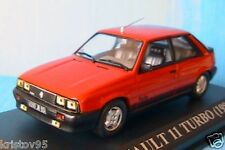 RENAULT 11 TURBO 1985 ROUGE IXO ALTAYA 1/43 RED ROSSO r11 MODEL CAR ROT