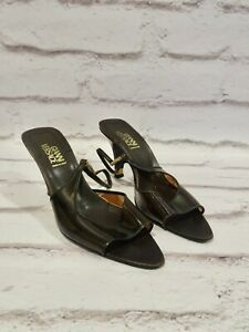Gianni Versace Ladies strappy shoes size 37 UK 4