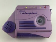 Talkgirl Tiger Deluxe Cassette Tape Handheld Recorder Voice Changer Vintage 90s