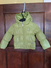 United Colors of Benetton Toddlers 18 Month Down Green Coat