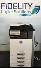 Sharp MX-4110N Color Multifunction Network Print Scan Copy Fax Finisher 41PPM