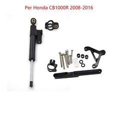 DHL Ammortizzatore di sterzo il kit di montaggio set per Honda CB1000R 2008-2016