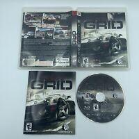 GRID (Sony PlayStation 3, 2008) Complete Tested