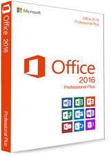 Microsoft Office 2016 Professional Plus Vollversion Software Lizenzschlüssel