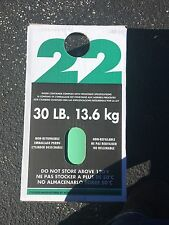 FREON R-22  REFRIGERANT   30lbs. NEW IN BOX / SEALED  R22 30 lb FAST SHIPPING