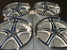 "18"" White Wheels Rims 4 Lugs Fit Civic Legend Prelude Galant Altima Versa Lancer"