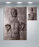 Star Wars Han Solo Frozen In Carbonite Giant 1 Piece  Wall Art Poster TVF166