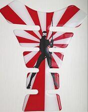 Ninja Girl Japanese Sun 3D Resin Tank Pad