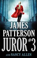 Juror #3 by James Patterson (2018, Hardcover)