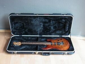 Ernie Ball Music Man Luke III BFR HSS Haselbrust Q E-Gitarre mit Koffer VP 4368€
