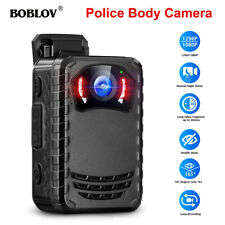 Boblov Small Body Worn Camera Night Vision Full HD 1296p for Daily Protection