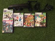 Sensor de cámara de Xbox 360 Kinect +5 Juegos aventuras Dance Central Rabbids Sports