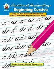 Traditional Handwriting: Beginning Cursive, Grades 1 - 3 by Carson-Dellosa Publi