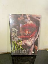 Joker HC Hardcover DC Comics Brian Azzarello Lee Bermejo signed autographed