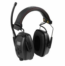 Howard Leight Sync Digital Am/fm Radio Mp3 Input Earmuffs Black Class 5 1030330