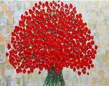 Handpainted Flower Oil Painting On Canvas Modern Art for home decor H103
