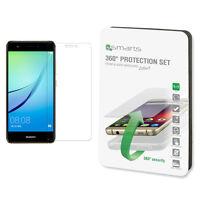 Kit 4SMARTS pellicola vetro+custodia cover AIR trasparente per Huawei Nova