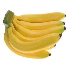 9 Banana Artificial Banana Model Simulation Lifelike Banana Bunch for Home Decor