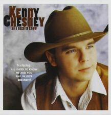 Kenny Chesney - All I Need To Know ( CD, 1995 ) FREE SHIPPING IN CANADA