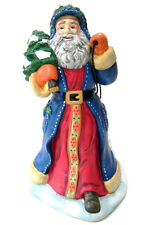 Partylite St Nikolaus Santa Claus Collection Candle Holder with Sled