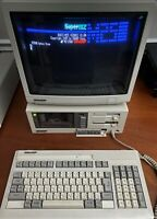 Very rare SHARP MZ-2500 SuperMZ Japan Import, System disks, RGB monitor, tested!