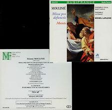 MOULINIE  missa pro defunctis , motets  SAGITARIUS , LA FENICE ,  M. LAPLENIE