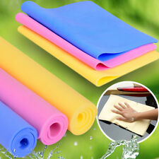 1x Magic Car Washing Wipe Towels Cloth Absorber Synthetic Chamois Leather Random