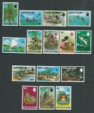 Gilbert & Ellis Islands SG173-187 1971 Definitives Unhinged Mint