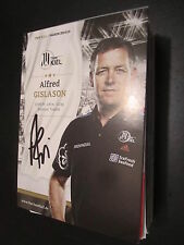 31719 Alfred Gislason THW Kiel original signierte Autogrammkarte Handball