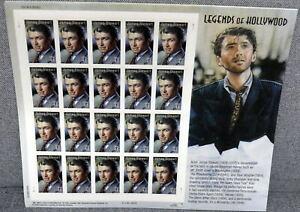 USPS James Stewart.Legends of Hollywood. Sheet of  20  41 Cent stamps