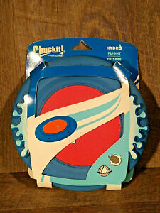 Chuckit! Hydroflight Frisbee Disc Dog Toy, water toy Fun for Owner and Dog