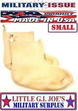US Military Surplus Extreme Cold Weather N-1B 100% Wool Mukluk Boot Liners SMALL
