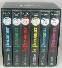 Coffret 6 cassettes VHS—L'intégrale des 17 épisodes—Le Prisonnier—1991