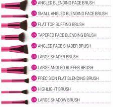 BH Cosmetics Sculpt And Blend Pink FAN FAVES 10 Pieces Brush Set NIB